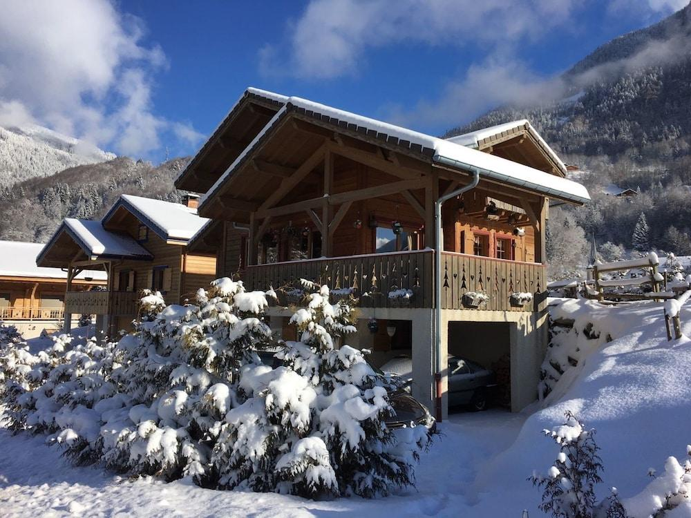 Chalet With 5 Bedrooms In St Jean D'aulps, With Wo