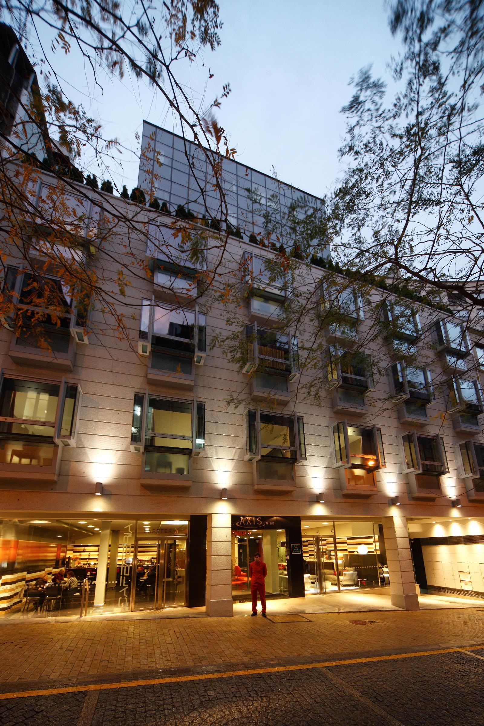 1. Hotel Axis Vigo