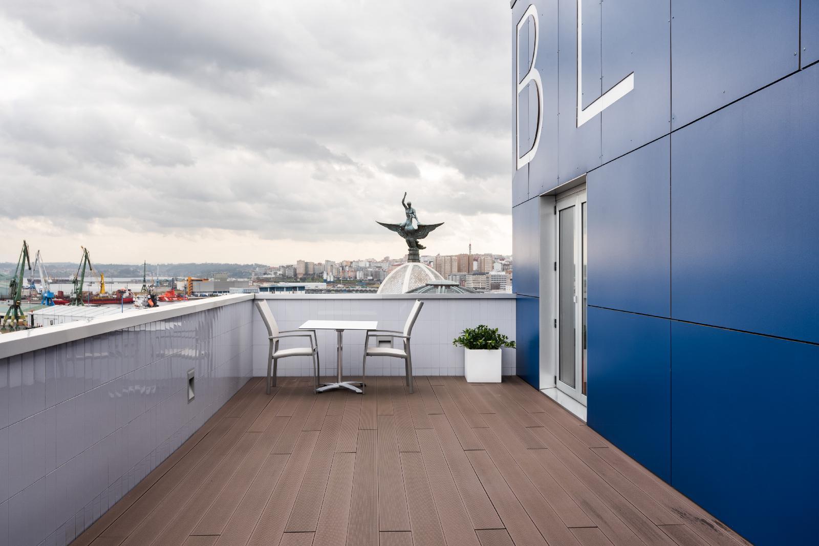 4. Eurostars Blue Coruña